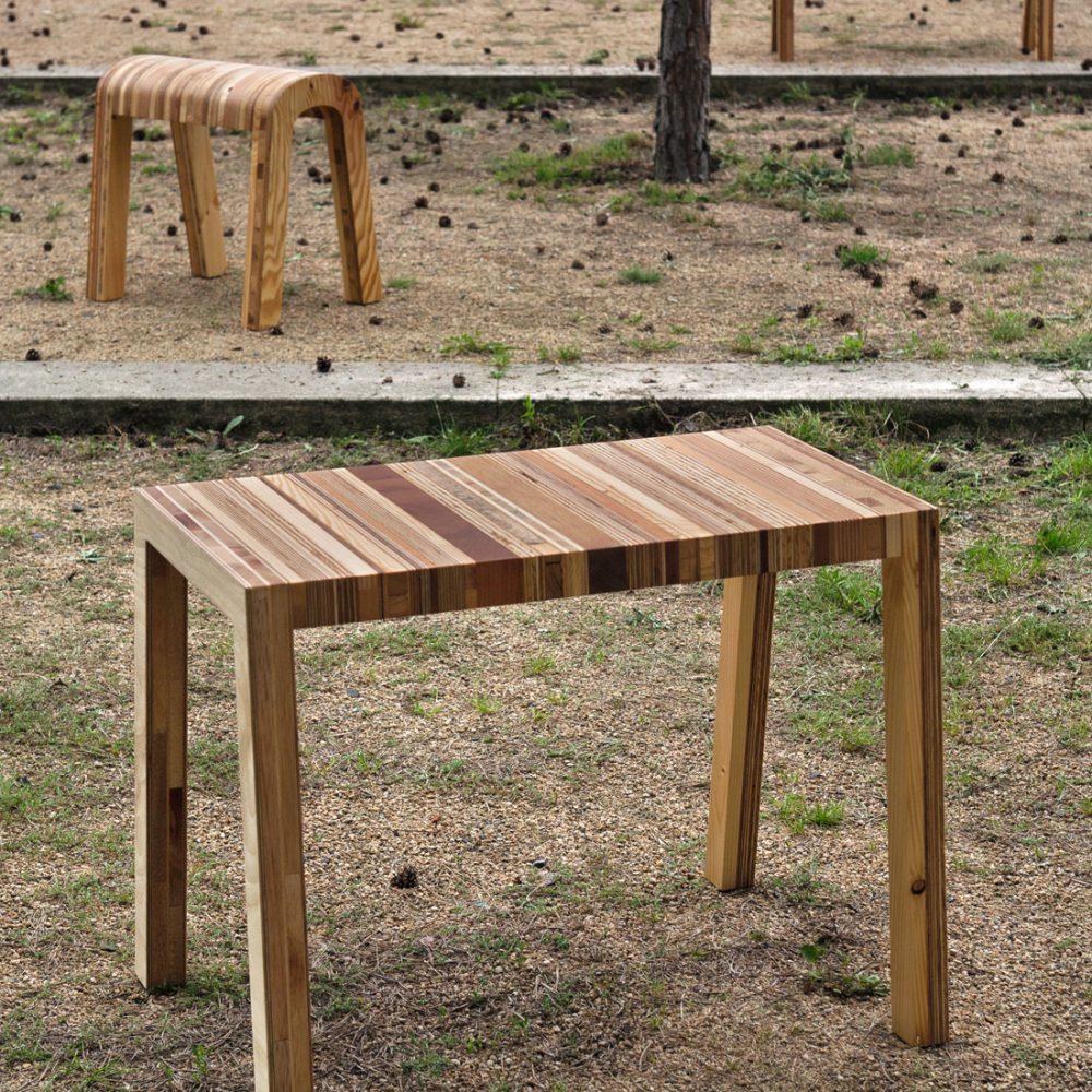 Henny Hendrichs, Bänckchen und Tischchen, Foto: Maria Jauregui Ponte