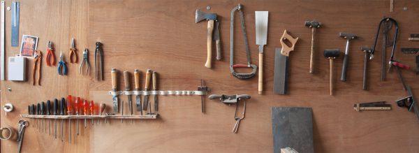 Henny Hendrichs, Werkstatt, Werkzeuge